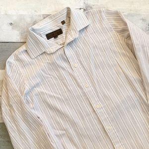 Yves Saint Laurent | Striped Dress Shirt 32-33